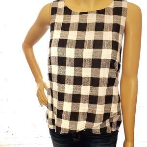 One Clothing LA checkered layered tank